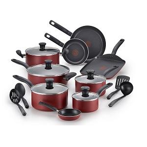 T-fal B165SI 18-Piece Cookware Set