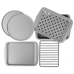 OvenStuff 6-Piece Baking Pan Set