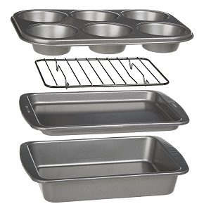 Ecolution 4-Piece Oven Bakeware Set