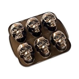 Nordic Ware Skull Cakelet Pan