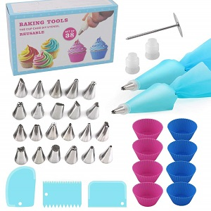 cFone 38-Piece Cake Decorating Supplies