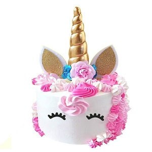 PalkSky Unicorn Cake Toppers set