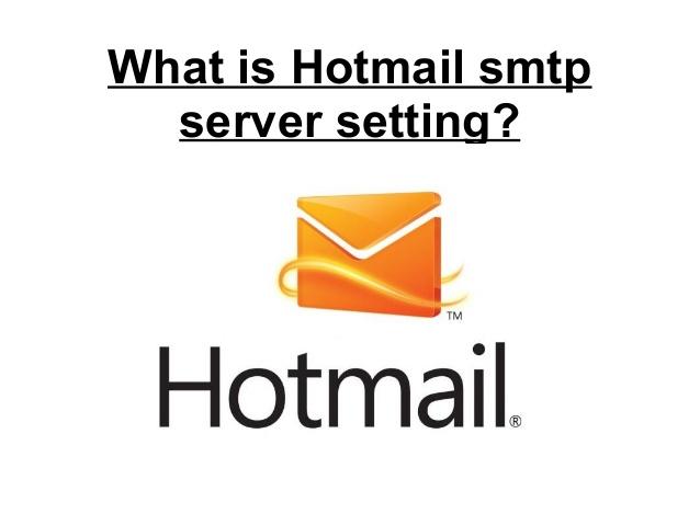 Smtp settings for windows live hotmailcom email address windows live hotmail smtp server settings stopboris Choice Image