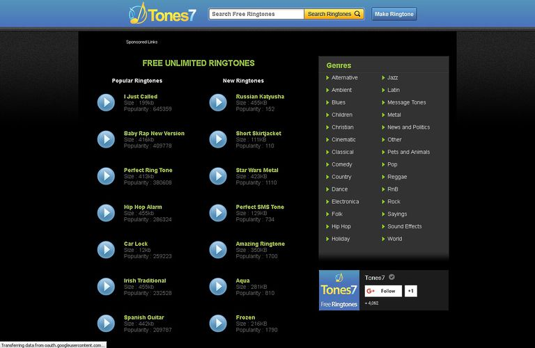 Top 5 Websites to Download Free Ringtones for Android and iPhone