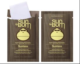 Sun Bum Self Tanning Towelettes